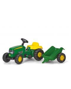 Rolly 01/219/0 Kid John Deere Tractor & Trailer