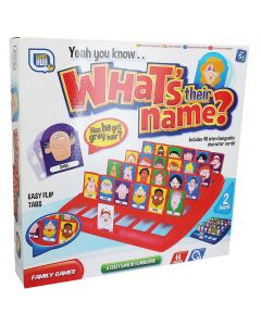Toy Hub 01-0135 Whats Their Name Game