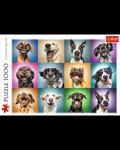 Trefl 10462 Funny Dog Portraits 1000 Piece