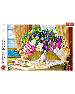 Trefl 10526 Flowers in the Morning 1000 piece