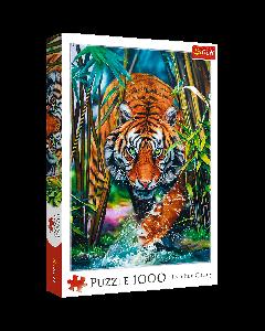 Trefl 10528 Grasping Tiger 1000 piece