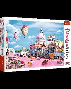 Trefl 10598 Funny Cities Sweets in Venivce 1000 Piece