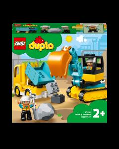 LEGO DUPLO 10931  Construction Truck & Tracked Excavator