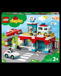 LEGO 10948 DUPLO Car Park Garage and Wash Set