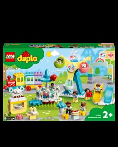 LEGO 10956 DUPLO Amusement Park Fairground with Train, Carousel & Ferris Wheel