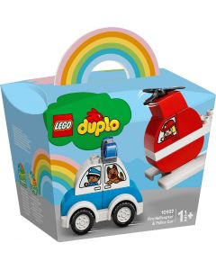 Lego 10957 Duplo Fire Helicopter & Police Car