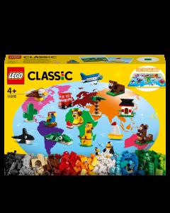 LEGO 11015 Classic Around the World Building Bricks