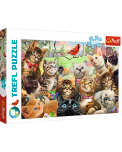 Trefl 13241 Kittens 260 piece