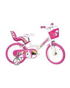 Dino Bike 144R-UN Unicorn 14'' Bicycle