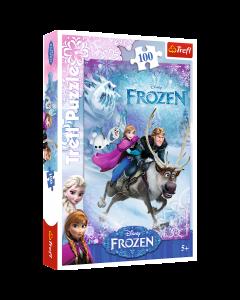 Trefl 16273 Disney Frozen, To Anna's Rescue 100 Piece Puzzle