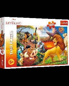 Trefl 16359 The Lion King, 100 Piece Puzzle
