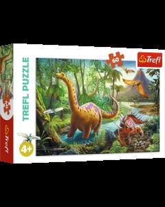 Trefl 17319 Dinosaurs. 60 Piece Puzzle