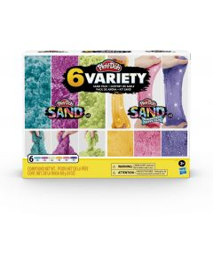 Play-Doh F0103 Play-Doh Sand Variety Pack