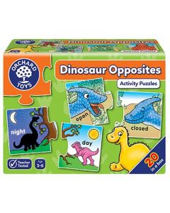 Orchard Toys 295 Dinosaur Opposites Activity Puzzles