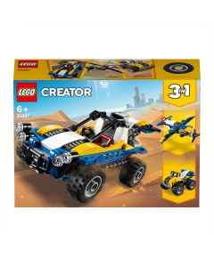 LEGO 31087 Creator Dune Buggy Off Roader,  Plane and Quad Bike 3 in 1 Building Set