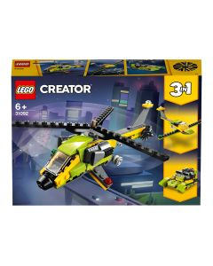 LEGO 31092 Creator Helicopter Adventure, Power Boat and Glider Plane 3 in 1