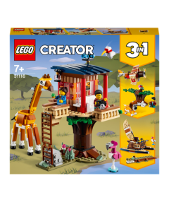 LEGO Creator 31116 Safari Wildlife Tree House