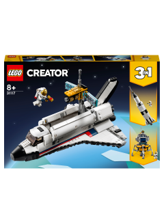LEGO 31117 Creator 3in1 Space Shuttle Adventure to Rocket