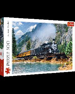 Trefl 37379 Mountain Train 500 Piece Puzzle