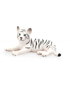 Animal Planet 387015 White Tiger Cub Lying