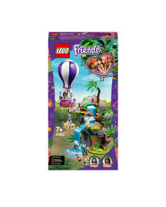 LEGO 41423 Friends Tiger Hot Air Balloon Jungle Rescue Play Set