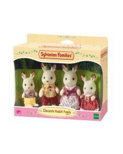 Sylvanian Families 4150 Chocolate Rabbit Family