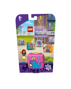 LEGO 41667 Friends Olivia's Gaming Cube Play Set, Collectible Travel Toy for Kids 6+ Years Old with Mini Doll