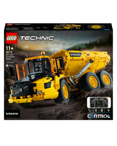 LEGO 42114 Technic 6x6 Volvo Articulated Hauler Truck Toy RC Car Construction Vehicle