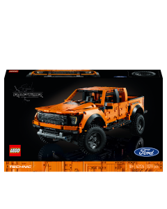 LEGO 42126 Technic Ford F-150 Raptor Pickup Truck Advanced Building Set for Adults, Collectible Car Model with Authentic Details
