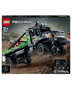LEGO 42129 Technic 4x4 Mercedes-Benz Zetros Trial Truck Toy, RC Car, App-controlled Motor Vehicles Series