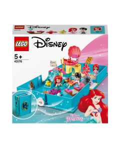 LEGO 43176 Disney Princess Ariel's Storybook Adventures Playset