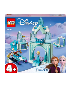 LEGO 43194 Disney Anna and Elsa's Frozen Wonderland Castle Toy with Princess Mini Doll Figures for 4+ Years Old Girls and Boys
