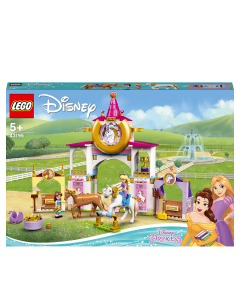 LEGO 43195 Disney Princess Belle and Rapunzel's Royal Stables