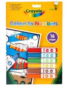 Crayola 03.7321 Colour By Numbers Assortment