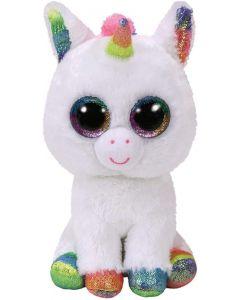 Ty 36852 Pixy Unicorn White Beanie Boo