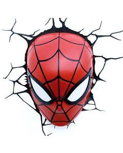 Source 49466 Marvel Spiderman 3D Wall Light