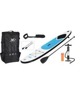 XQ Max Professional Stand Up Paddle Board SUP 305cm Complete Set with Pump, Blue