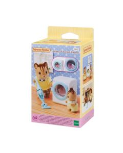 Sylvanian Families 5445 Laundry & Vacuum Cleaner