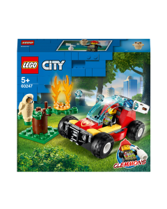 LEGO City 60247 Forest Fire Response Buggy with Firefighter