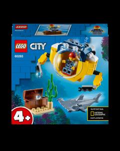 LEGO 60263 City Ocean Mini-Submarine Deep Sea Underwater Set