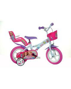 "Dino Bikes 612GL-BA Barbie 12"" Bicycle"