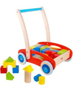 Tooky Toy baby stroller - baby walker - stroller for children - toys for children - baby toys - Approx. 35 x 29 x 40 cm
