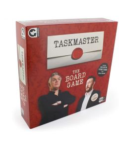 Ginger Fox Taskmaster Board Game - Compete With Family & Friends In Ludicrous Tasks To Be Crowned Taskmaster Champion