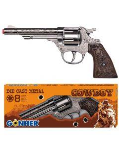 Peterkin 4180 8 Shot Cowboy Gun Boxed