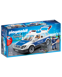 Playmobil 6920 City Action Squad Car with Lights and Sound