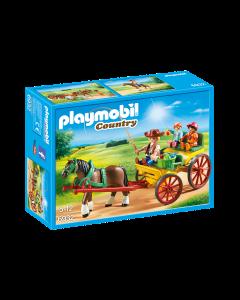 Playmobil 6932 Country Horse-Drawn Wagon