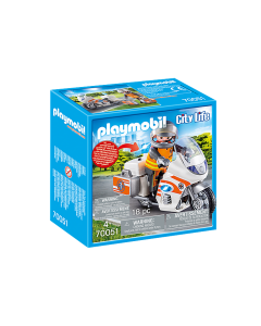 Playmobil 70051 City Life Emergency Motorbike