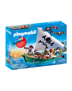 Playmobil 70151 Pirate Ship with Underwater Motor