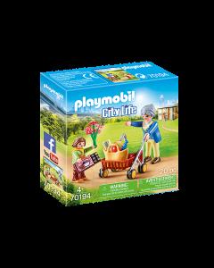 Playmobil 70194 City Life Grandmother with Child