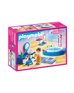Playmobil 70211 Dollhouse Bathroom with Tub